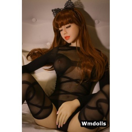 Love doll WM DOLL TPE - Yeux fermés - Milly - 158cm