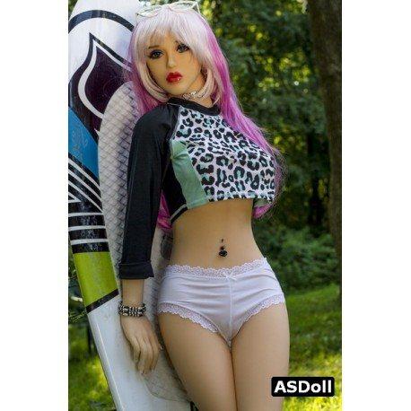 Extravagante poupée femme réelle - Abby - 148cm
