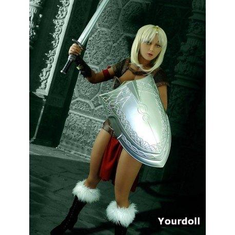 La gladiatrice sexy - Poupée Fantasy en TPE - Shael - 165cm